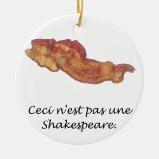 Ceci n'est pas une Shakespeare Ornaments