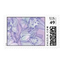 Ceci Watercolors - Lavender Orchids Postage