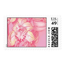 Ceci Watercolors - Rose Orchids Postage