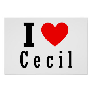 Cecil, Alabama City Design Poster
