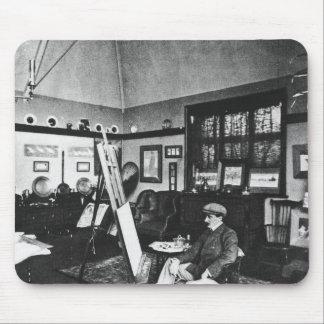 Cecil Aldin in his studio Mouse Pad