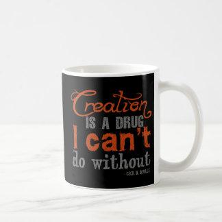 Cecil B. DeMille Creation Quote Coffee Mug