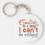 Cecil B. DeMille Creation Quote Key Chains