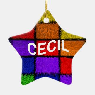CECIL CERAMIC ORNAMENT