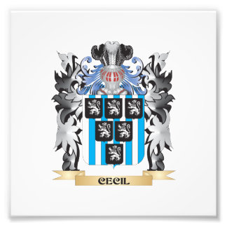 Cecil Coat of Arms - Family Crest Photo Print