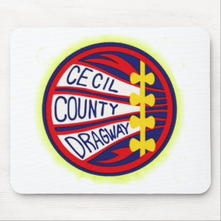 Cecil County Dragway copy Mouse Pad