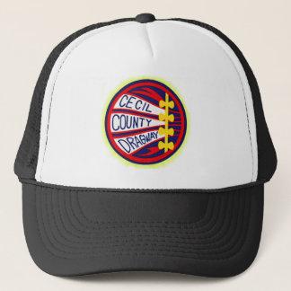 Cecil County Dragway copy Trucker Hat