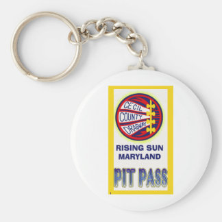 Cecil County Dragway Pit Pass Keychains