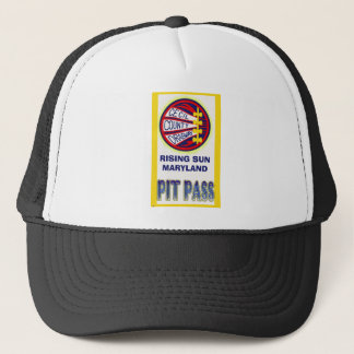 Cecil County Dragway Pit Pass Trucker Hat