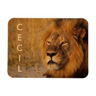 Cecil el león de África Iman Flexible