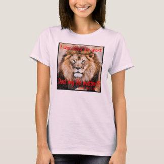 Cecil el león - me mataron para el deporte playera