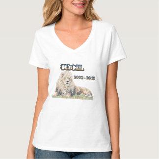 Cecil el león playera