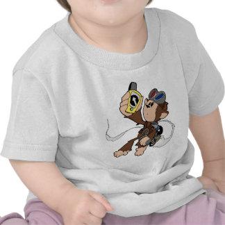 Cecil en vuelo camisetas
