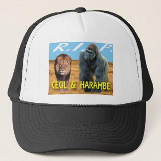 Cecil & Harambe T-Shirt Trucker Hat