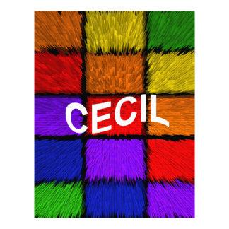 CECIL LETTERHEAD