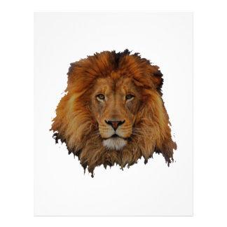 Cecil lion design letterhead