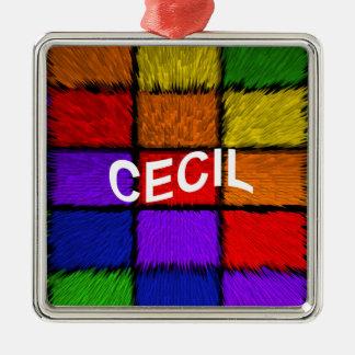 CECIL METAL ORNAMENT
