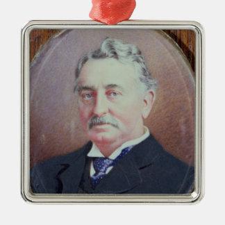 Cecil Rhodes Metal Ornament