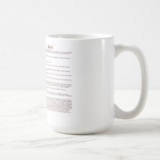 Cecil (significado) taza clásica