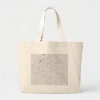 Cecil The Lake Serpent Jumbo Tote Bag