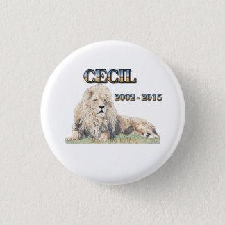 Cecil The Lion Button