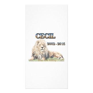 Cecil The Lion Card