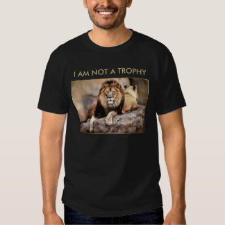 Cecil the Lion I Am Not A Trophy Tees