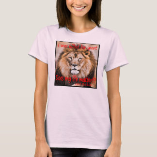 Cecil the Lion - I was killed for sport T-Shirt