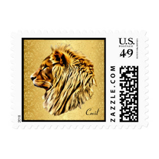 Cecil the Lion Postage