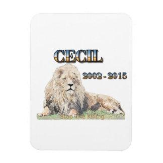 Cecil The Lion Rectangular Photo Magnet