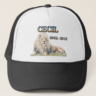 Cecil The Lion Trucker Hat