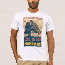 Cecil The Lion VS Harambe The Gorilla Movie T-Shirt