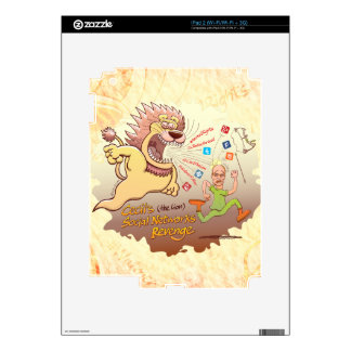 Cecil the Lion's Social Networks Revenge Decal For The iPad 2