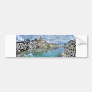 Cecile Lake / Minarets - Ansel Adams Wilderness Bumper Sticker