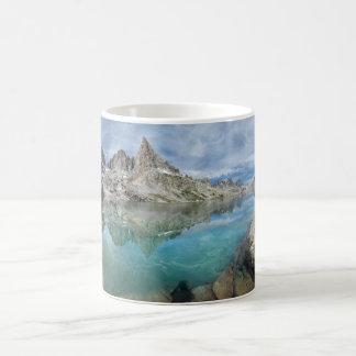 Cecile Lake / Minarets - Ansel Adams Wilderness Coffee Mug