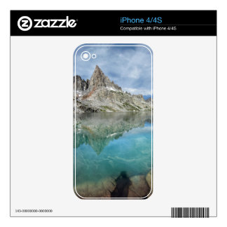 Cecile Lake / Minarets - Ansel Adams Wilderness Skins For iPhone 4