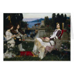 Cecilia by John William Waterhouse Greeting Cards