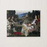 Cecilia by John William Waterhouse Jigsaw Puzzles
