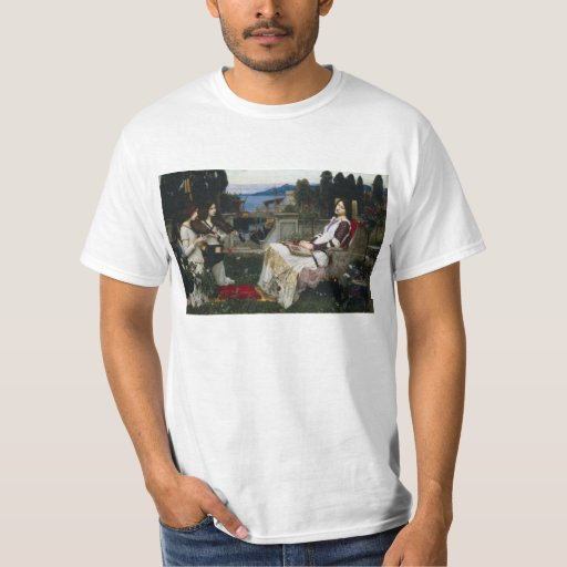 Cecilia by John William Waterhouse Shirt