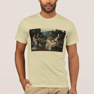 Cecilia by John William Waterhouse T-Shirt
