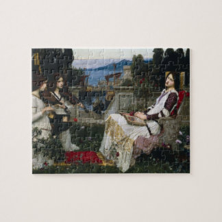 Cecilia de John William Waterhouse Rompecabeza