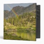 Cecret Lake with rainbow over Devil's Castle, Vinyl Binders