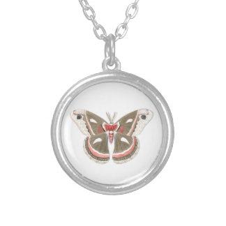 Cecropia Moth Necklace