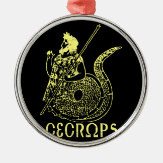 Cecrops Metal Ornament