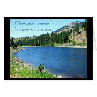 CEDA - Clearwater River Horizontal Greeting Card