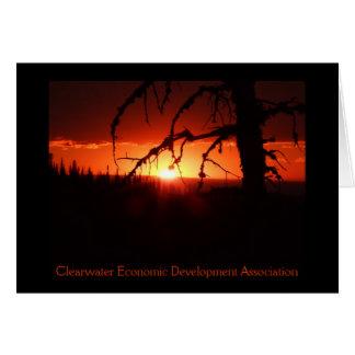 CEDA - Idaho Sunset Card. - Customized