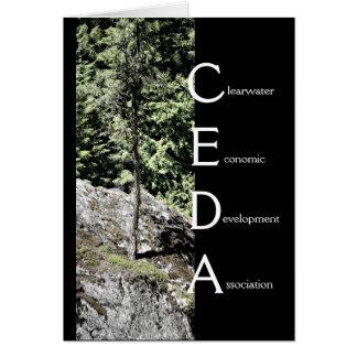 CEDA - Saludo general (árbol) Tarjeta Pequeña