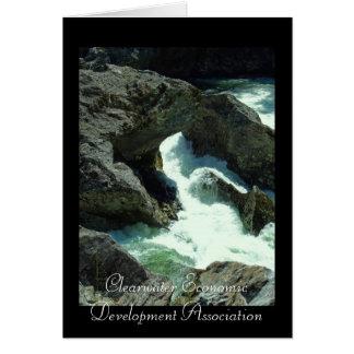 CEDA - Selway Falls 2 Greeting Card