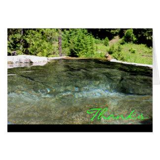 CEDA - Thank You ~ Weir Hot Springs Greeting Card