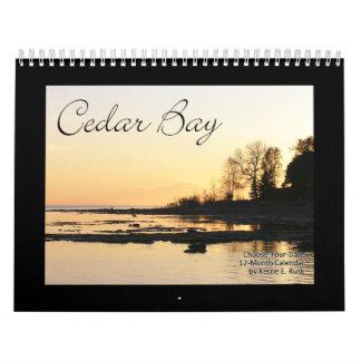 Cedar Bay Standard Version Choose-Your-Start-Date Calendar